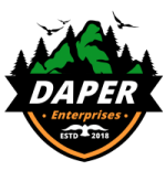 Daper Enterprises Lawn Care Business Logo